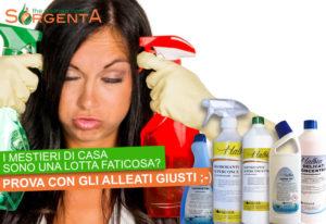 Alleati per le pulizie domestiche